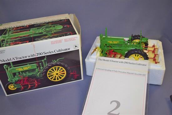 Precision Classics #2 Ertl John Deere Model A 1/16 Scale DC Tractor w/ 290 Series Cultivator #5633