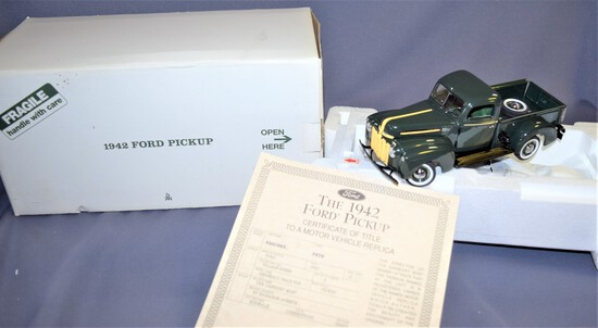Danbury Mint 1942 Ford Pick up Truck w/ title Model 21C