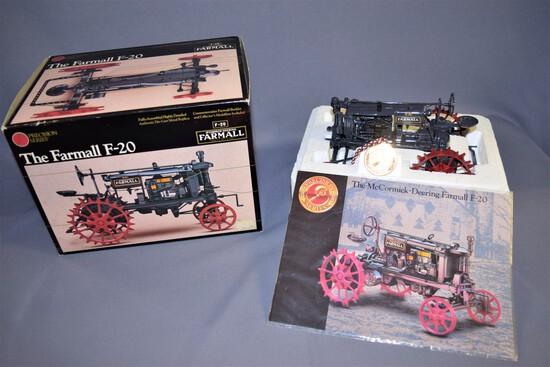 Precision Series #3 Ertl Die Cast 1/16 scale Farmall F-20 Tractor #638- 1992