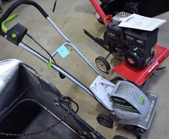 Earth Wise Electric Tiller/Cultivator Model TC70001