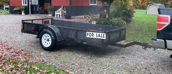 5 x 10 ft Single Axel Trailer