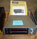 1801 BK Precision Frequency counter w/ booklet