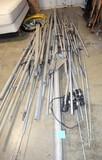 Pile of Ham Antenna pieces