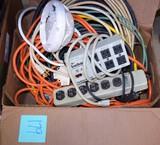 Power cords, etc.