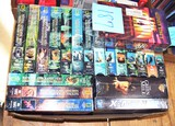 Sealed VHS tapes (National Geo, Green Mile/The Stand/X-Men)