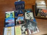 Music Cd's including sealed w/ Elvis greatest soundtracks