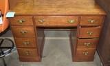 Walnut Finish Desk