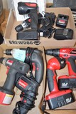 Battery powered tools (Craftsman & Drill Force ...NO CHARGERS)