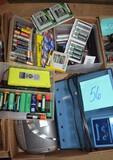 Miscellaneous box lot w/ batteries