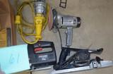 Lot w/ power tools