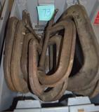 Miscellaneous box lot w/ clamps