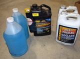 Wiper fluid & coolant