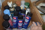 Lot of electric contact cleaner & misc.