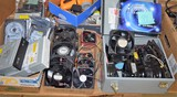 Lot with computer fans, etc.