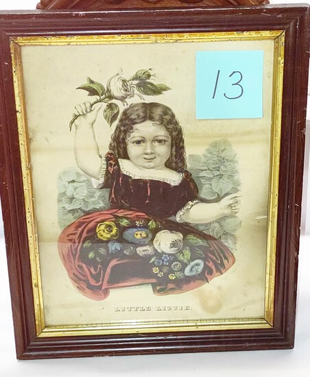 LITTLE LIZZIE CURRIER AND IVES (17X14)