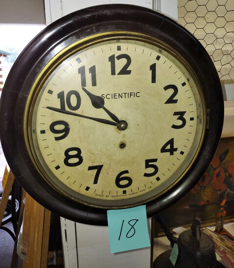 SCIENTIFIC CLOCK