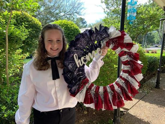 A&C Patriotic Wreath - Jennifer Clark - Spring 4-H