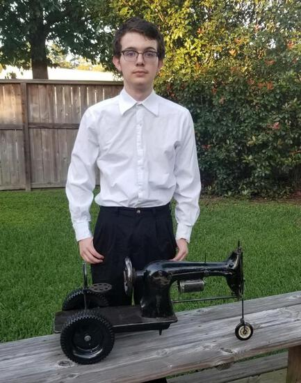 A&C Tractor (repurposed sewing machine) - Anthony Hopper - Spring FFA