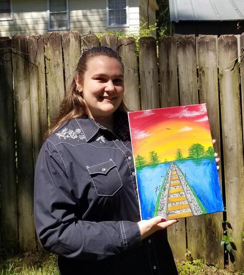 A&C Acrylic Painting - Riley Crump - Wunsche FFA