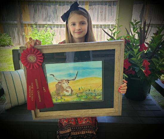 Reserve Champion - Art - Olivia Dorsey - Art Department