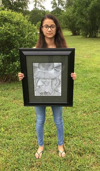 Grand Champion - Art - Ashley Martinez - Art Department