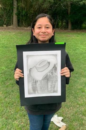 Reserve Champion - Art - Luz Lopez - Art Department