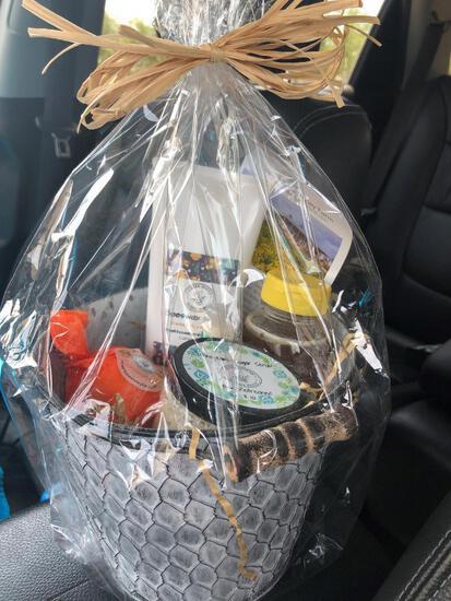 Honey Goods Basket