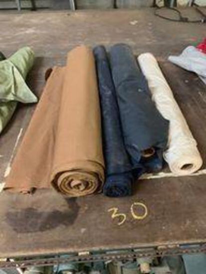 4 rolls cotton fabric