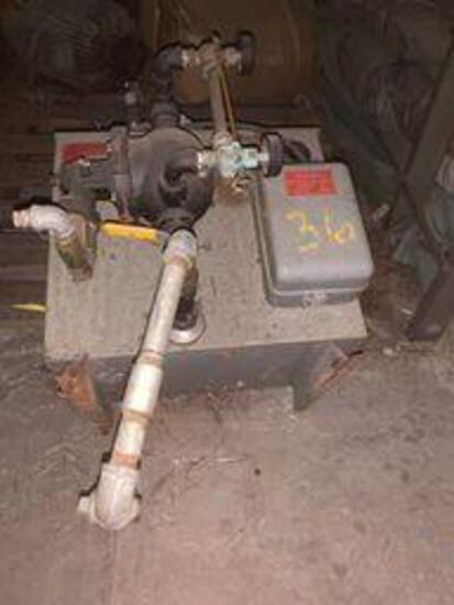 Electric Boiler with misc electric motor Model # AR5