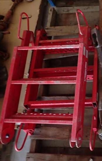 Deckmate Flatbed Folding Ladder 400# Capacity