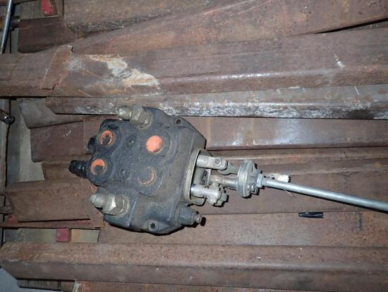 Universal Hydraulic Valve off Mahindra Front End Loader