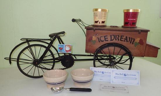 Bicycle Ice Cream Stand
