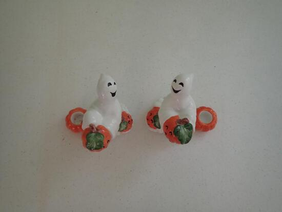 Candleholders, Ghosts/Pumpkin