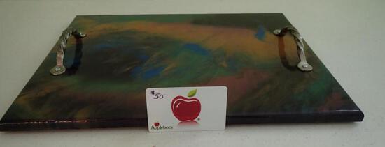 Applebee's Card & Serving Tray