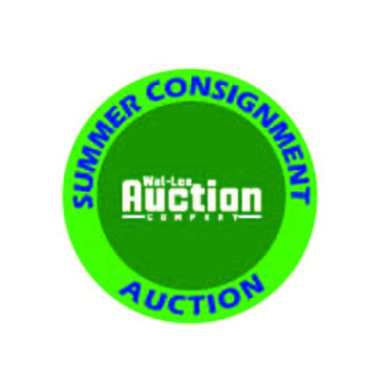 Summer Consignment Auction 2021