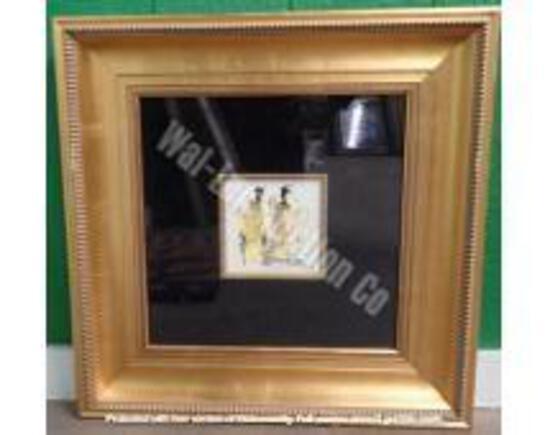 Original w/ Gold Frame 2' x 2'