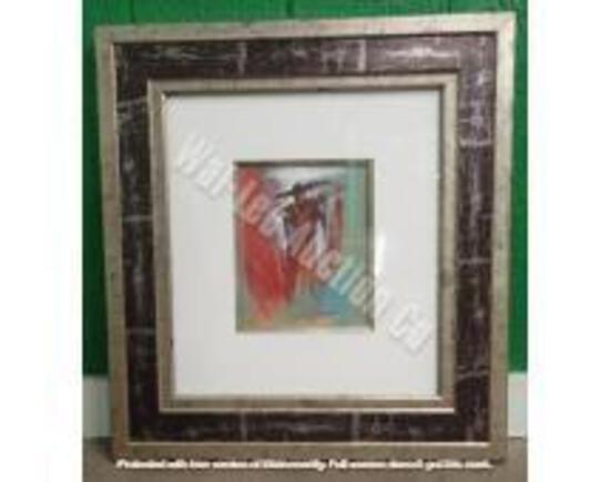 "Original w/ Black & Silver Frame 1'11"" x 1'9"""