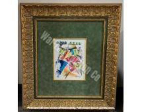 """Original 2/ Gold Frame 2'3"""" x 2'"""