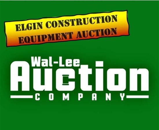 Elgin Construction Equipment Auction