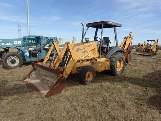 Case 580L Backhoe - CLICK ON PICTURE TO VIEW VIDEO