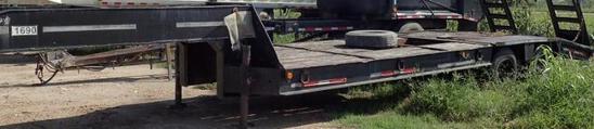 Heavy-Haul 5th Wheel Lowboy w/ Ramps