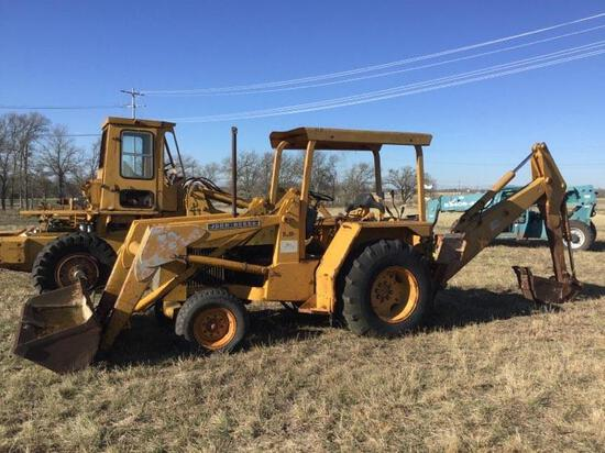 John Deere D310 Backhoe - CLICK ON PICTURE TO VIEW VIDEO