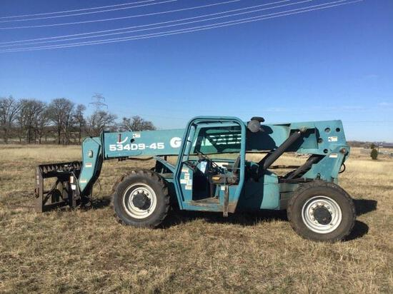 Gradall 534D9-45 Tellehandler - CLICK ON PICTURE TO VIEW VIDEO