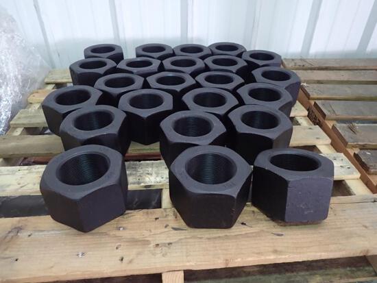 "4"" - ASTM A194 Grade 2H Heavy Hex Nut, Plain"