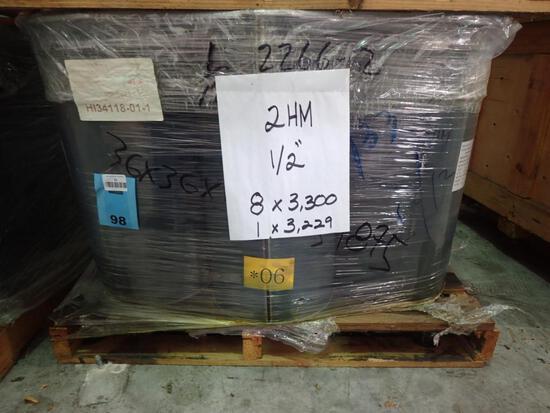 "1/2"" - ASTM A194 Grade 2HM Heavy Hex Nut, Plain"