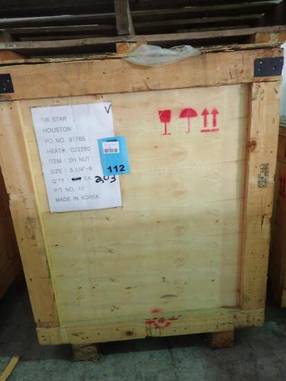 "3-1/4"" - ASTM A194 Grade 2H Heavy Hex Nut, Plain"