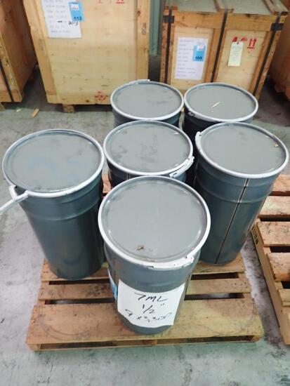 "1/2"" - ASTM A194 Grade 7M Heavy Hex Nut, Plain"
