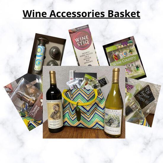 Wine Accessories Basket