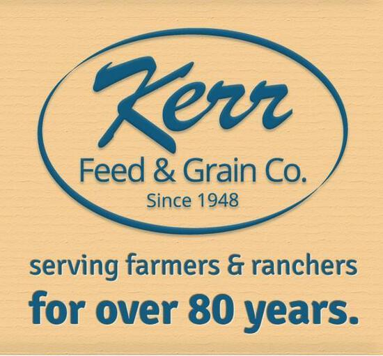 Kerr Feed and Grain Gift Card for 500lbs of cattle feed!