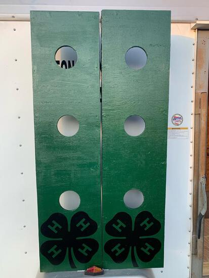 4-H Green Washer Boards with a set of washers!